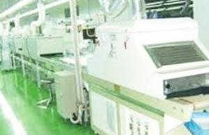 Surface treatment spray paint automatic line
